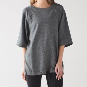 Lululemon Athletica | Split Short Sleeve Pullover